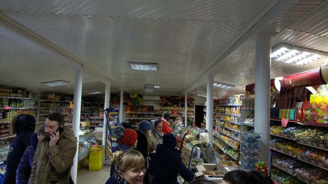 Стелаж в магазині ДО роботи з проектом stelazh.com.ua